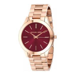 Michael Kors Slim Runway Ladies Bracelet Watch